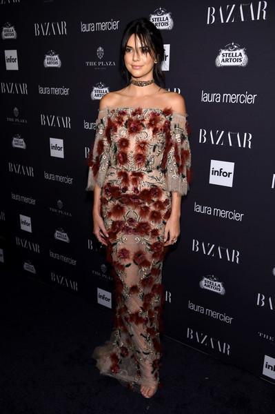 Kendall Jenner Off-the-Shoulder Dress