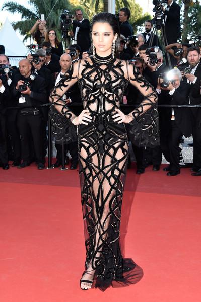 Kendall Jenner Sheer Dress