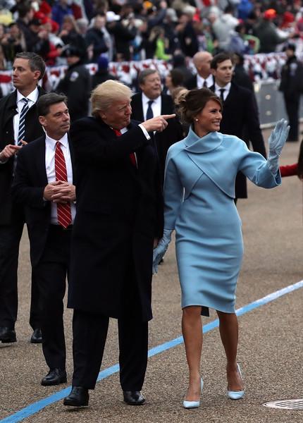 Melania Trump Skirt Suit