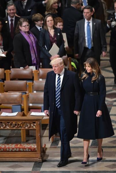 Melania Trump Wool Coat