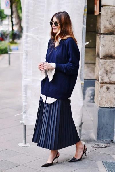 via Maja Wyh Blogger Street Style