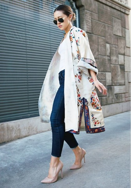 Trend Spring Fashion With Floral Embroidery Outfits via Who What Wear