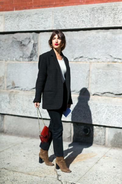 Photo by Diego Zuko at New York Fashion Week