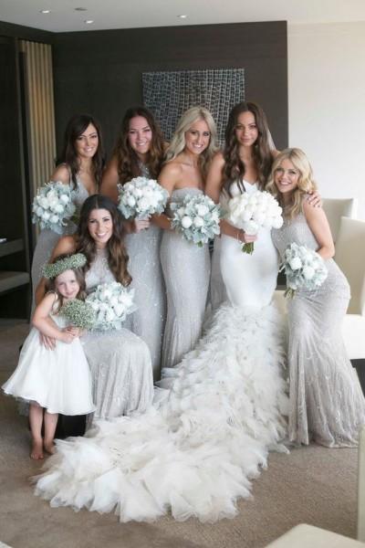 Shining Silver Wedding Ideas