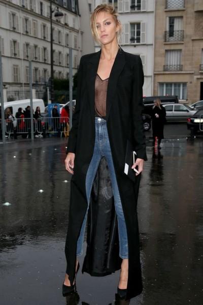 the cami looks sheer via marieclaire.com