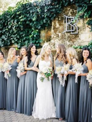 Most Favorite Spring Wedding Dress Color Ideas based on Pinterest via Weddingomania