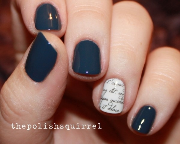 Cute Spring Nails Art With Minimalist Designs