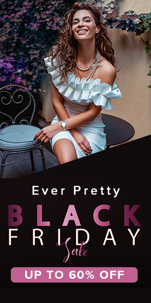 Ever Pretty Black Friday Sale Up To 60% Off