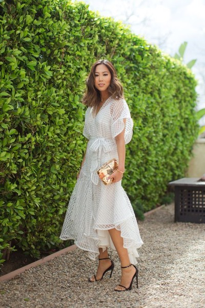 White Zimmerman Dress via Aimee Song
