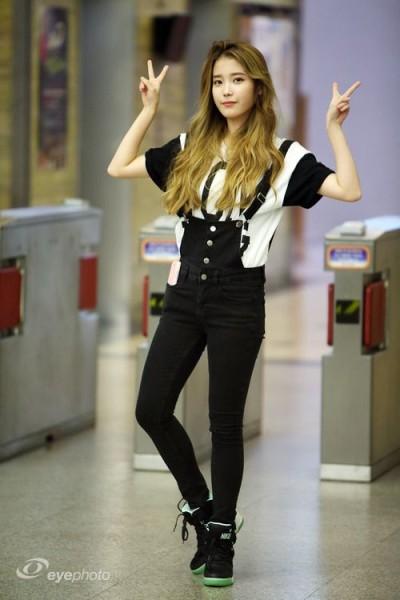 IU aka Lee Ji-Eun