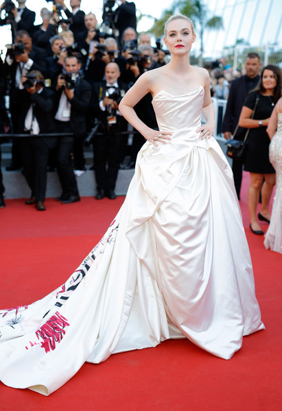 Elle Fanning in Vivienne Westwood Couture