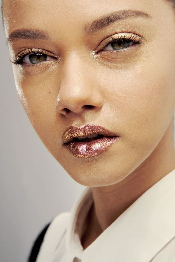 Metallic Lipstick Trend You Should Try Now and Where to get it