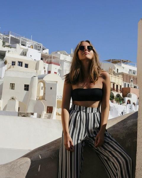 Pants Stripes via fashionandstylev.blogspot.rs