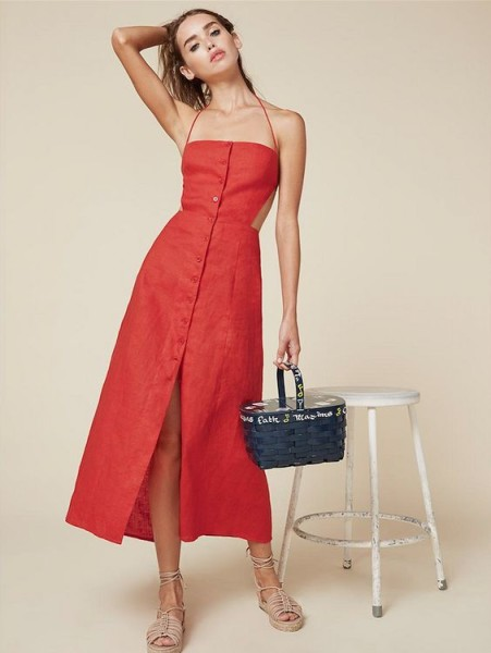 Reformation Manon Dress