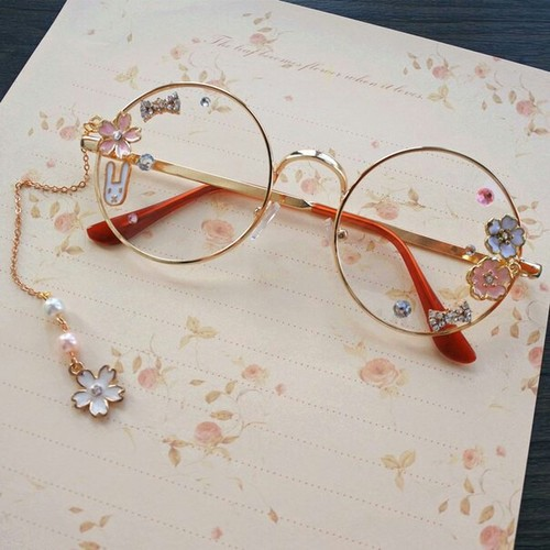 Round Glasses Asian style