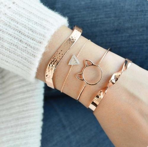 Stacked Bracelets _