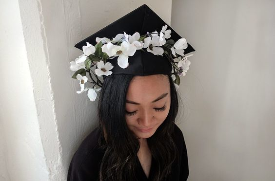 Two super-cute ways to customize your cap.