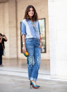 Cuffed Jeans Outfit Ideas