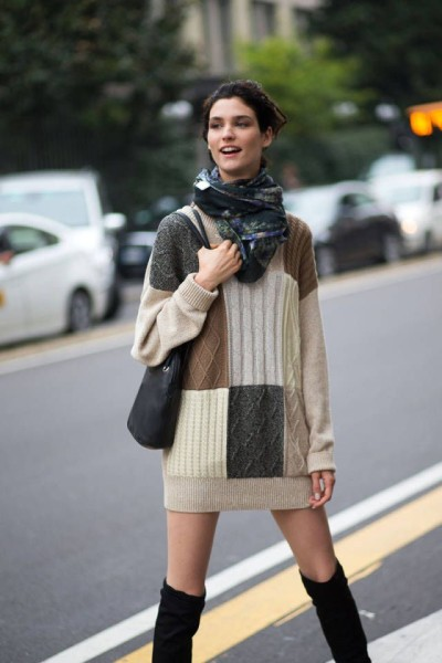 patchwork-knitted-sweater