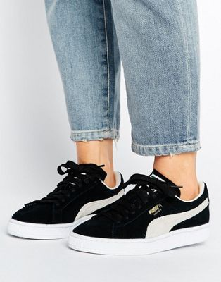 Styling Outfit With Puma Suede Classic via asos