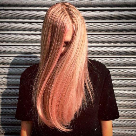 Trend Haircolor For Fall 2017 : Blorange Hair via refinery29.com