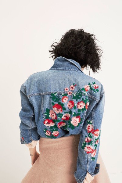The Oversized Jean Jacket: Embroidered Edition