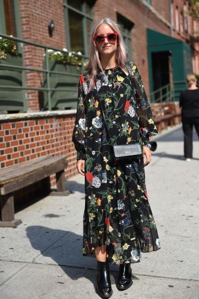 Floral Dress Outfit Ideas
