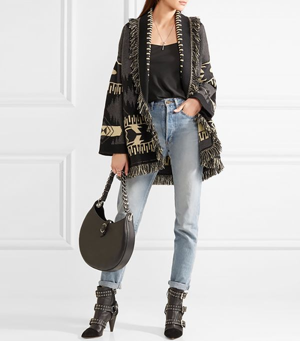 Fringed Cardigan Sweaters