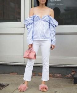 Fur Slide Outfit