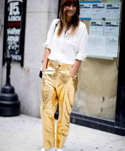 Street Style Looks From New York Fashion Week Spring 2018