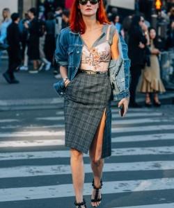 Corset Street Style via Tommyton