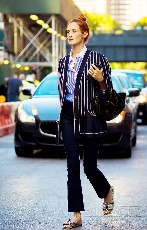 Layering Button Down Shirt With Blazer