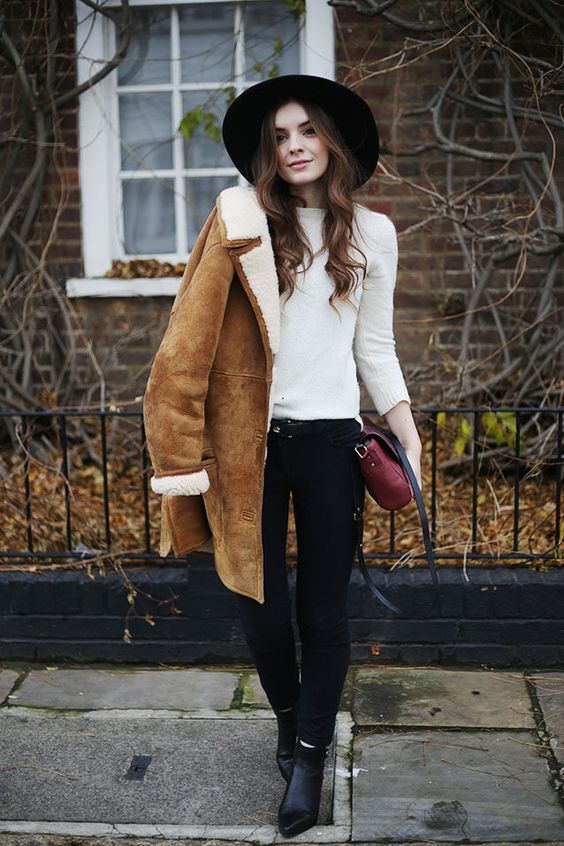 2017 Winter Trend: 2017 Winter TrendPair this cozy outer layer with simple layers and fall boots.