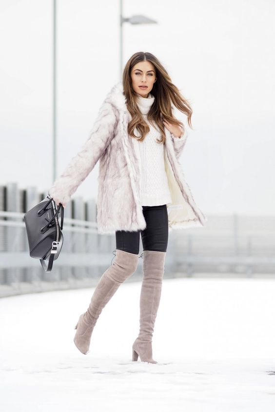 Winter Outfit Ideas That Will Make You Look Taller