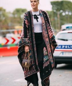 via Paris Fashion Week SS17 Street Style