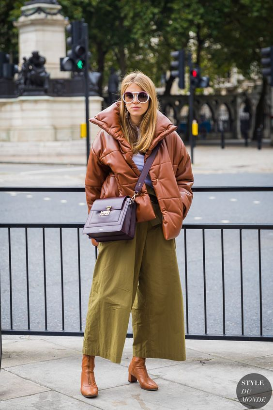 Puffer Jacket Outfit This Winter