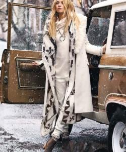 bohemian look via stylishwife.com