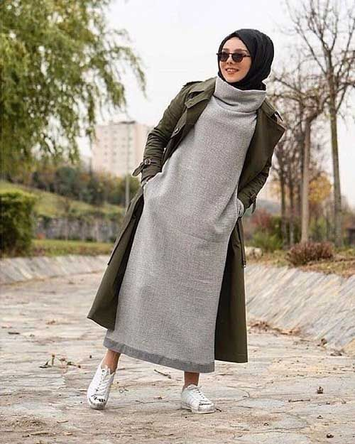 hijab trends for winter 2017