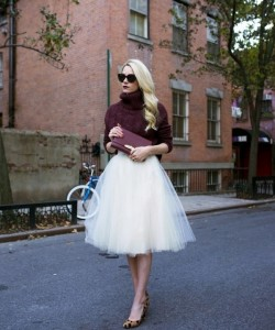 Style outfit on winter wedding