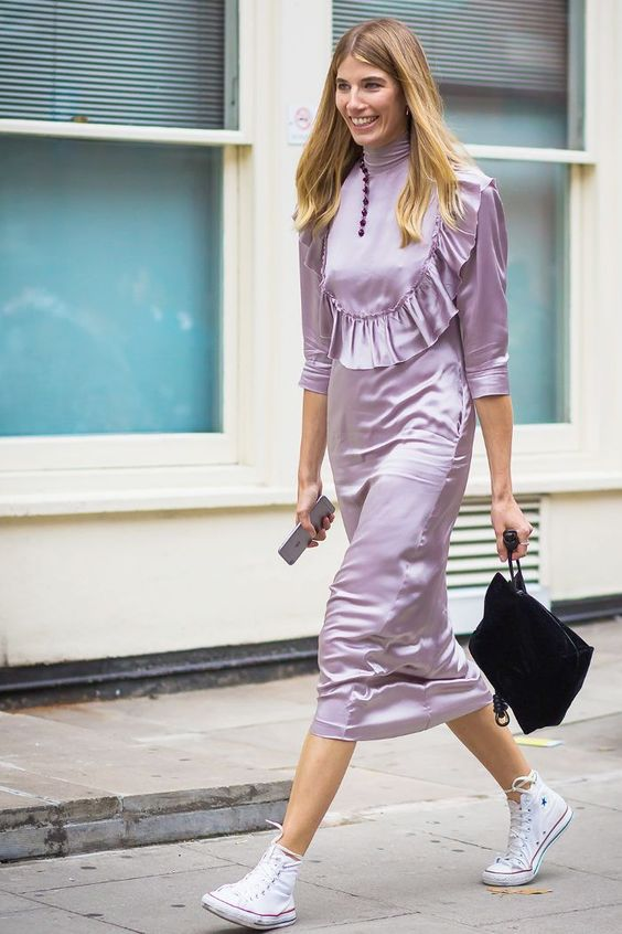 2018 Spring Trend Pretty Lavender Outfit Ideas to Brighten up Your Days