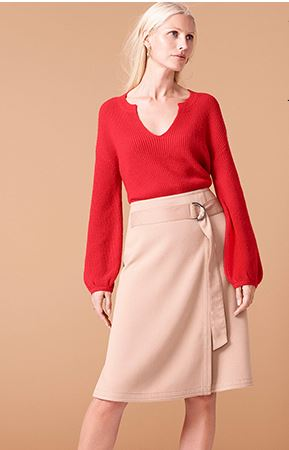 2018 Spring Trend: Office Outfit Ideas Bold Red