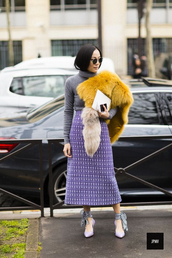 2018 Spring Trend: Pretty Lavender Outfit Ideas to Brighten up Your Days