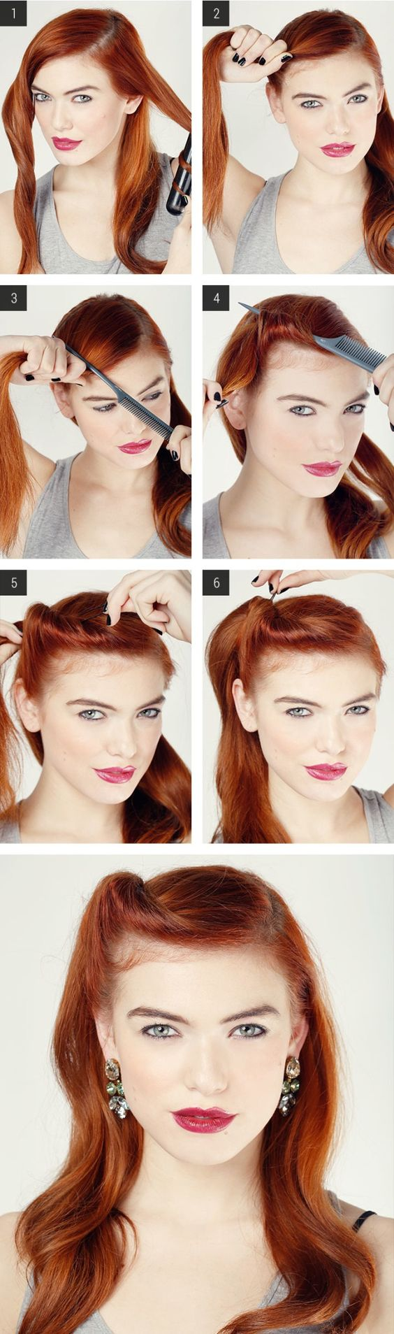 Retro Hair Tutorials