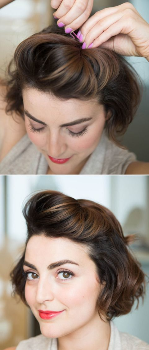 Short Retro Hairstyles by Cosmopolitan