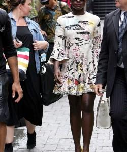 Lupita Nyong'o in Valentino