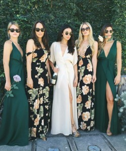 Spring Pretty Bridesmaid Dresses