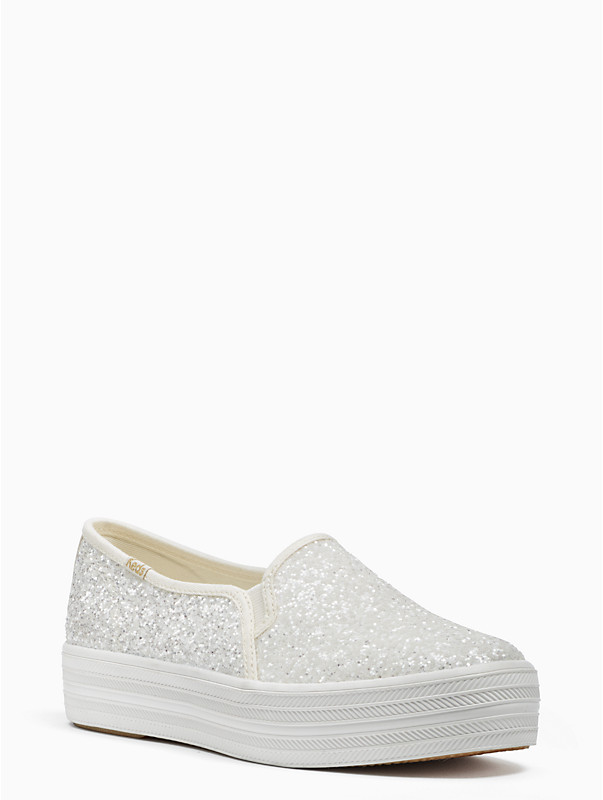 keds x kate spade new york triple decker sneaker in glitters