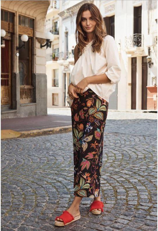 Andreea Diaconu H&M Boho outfit