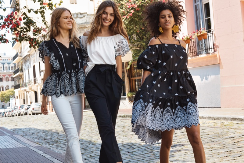 H&M bohemian style for spring 2018 campaign