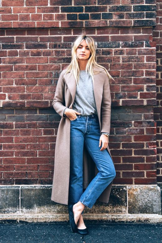 Long Coat With Casual Style